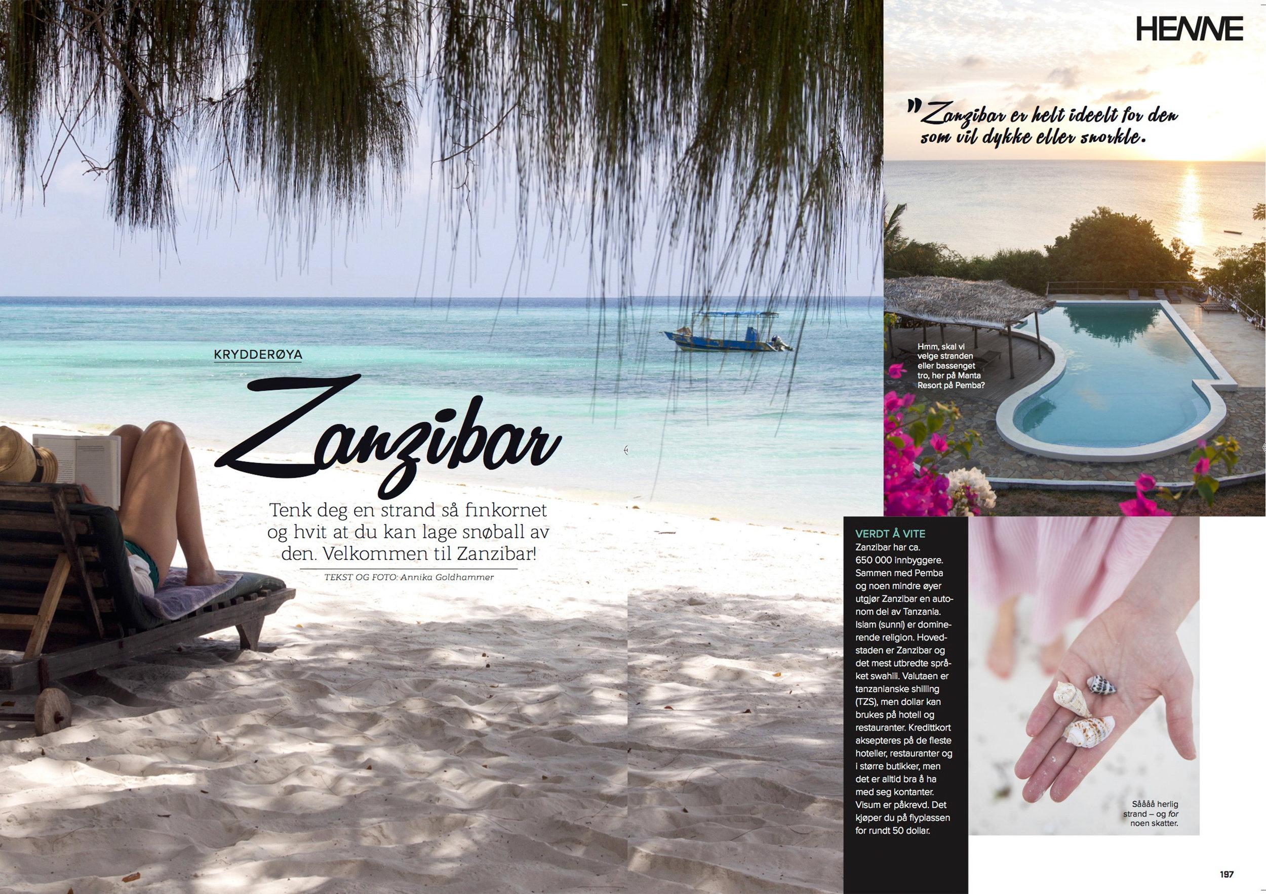 Zanzibar – Henne