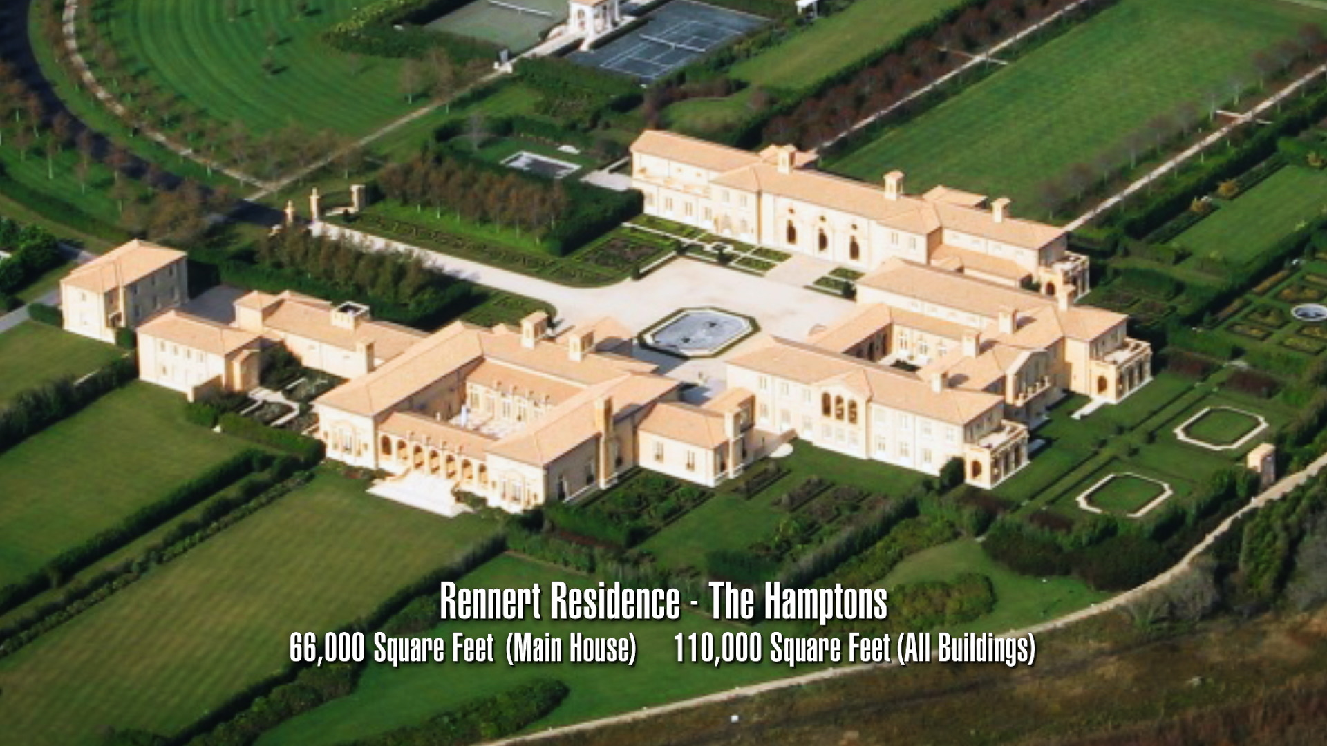The Rennert compound is 111,000 square feet: photo by Wikipedia user Cfijames