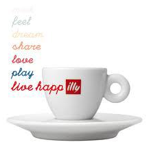 Proudly featuring illy coffee from Trieste, Italy