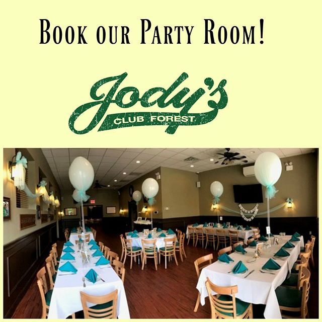 Our party room is ideal for #communions, #graduations, and other important #Spring events! Call now for more information.