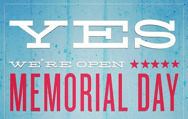 Happy #MDW! We will be open on #Monday for all of your long weekend celebrations! @jodysclubforest #MemorialDay #MemorialDayWeekend #StartofSummer #ForestAve