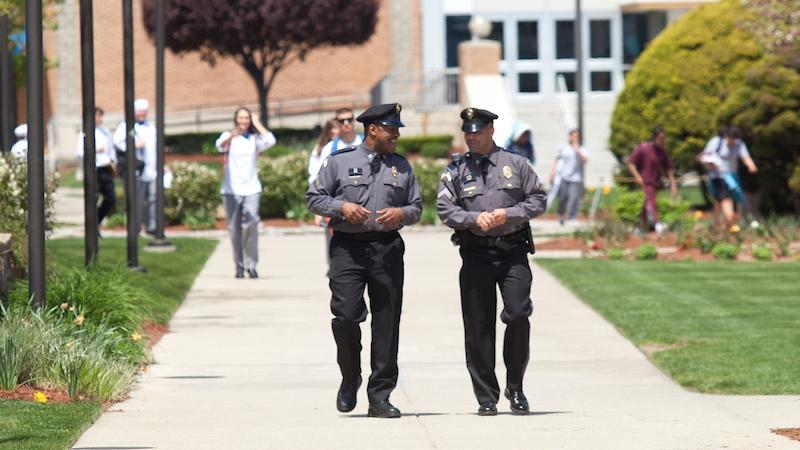 Safety officers at JWU