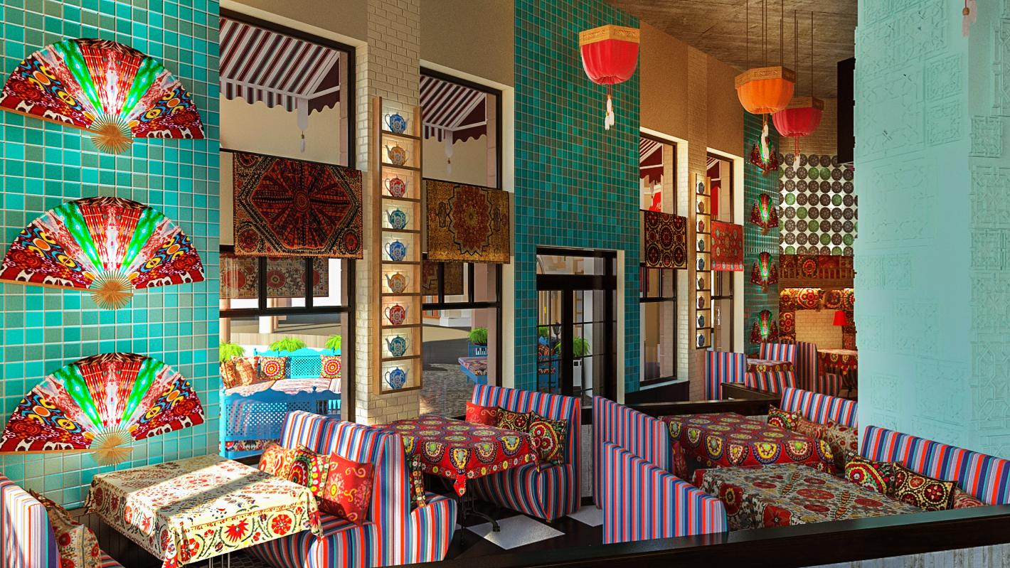 Oriental direction — Studija Design - M