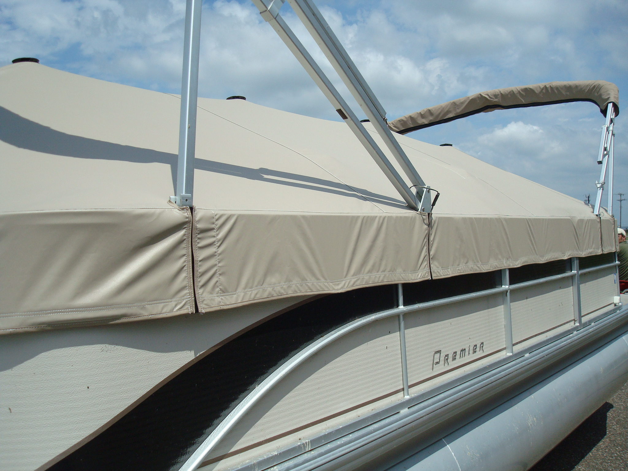 Custom Pontoon Cover Fabrication.JPG