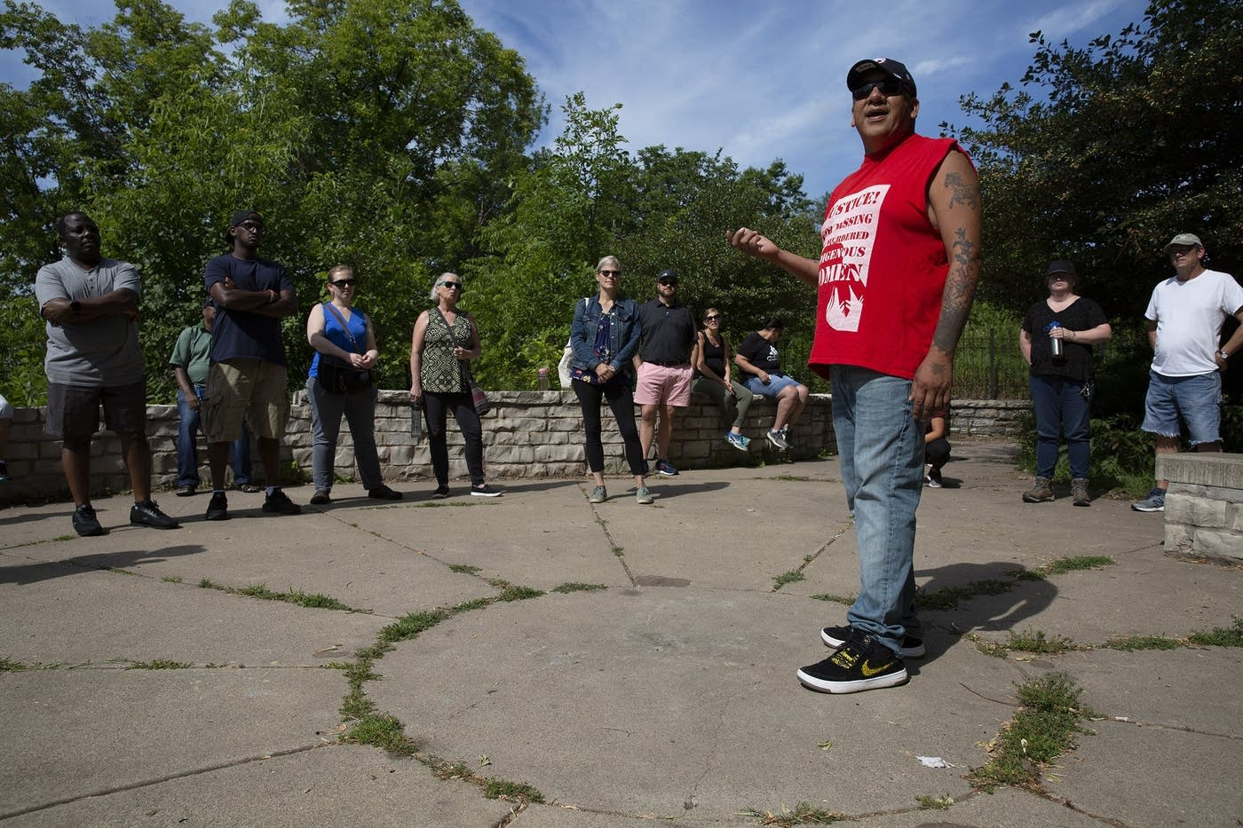 Picture credit: Christine T. Nguyen | MPR News (obtained from  https://www.mprnews.org/story/2019/08/14/native-american-tour-teachers-historical-trauma )