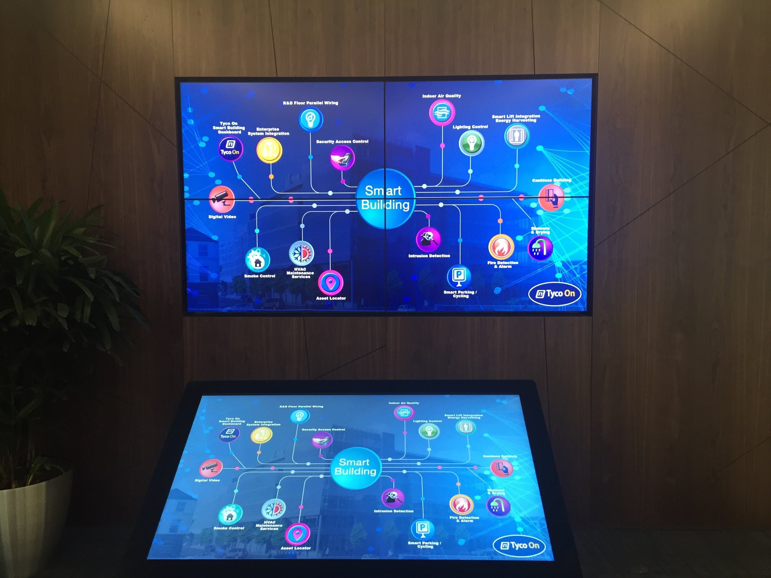 Johnson Controls (formally Tyco) - Touch Interface