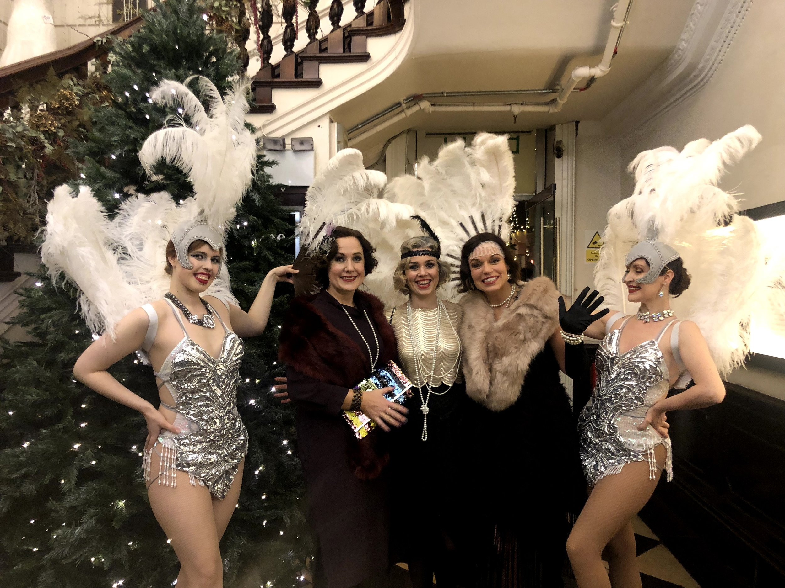 emotion media Great Gatsby Christmas Party