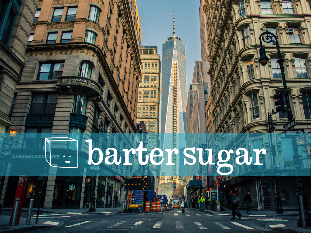 BarterSugar   This project addressed the redevelopment of an existing website for barter sugar, a tool that allows startups and freelancers to trade resources instead of dollars.