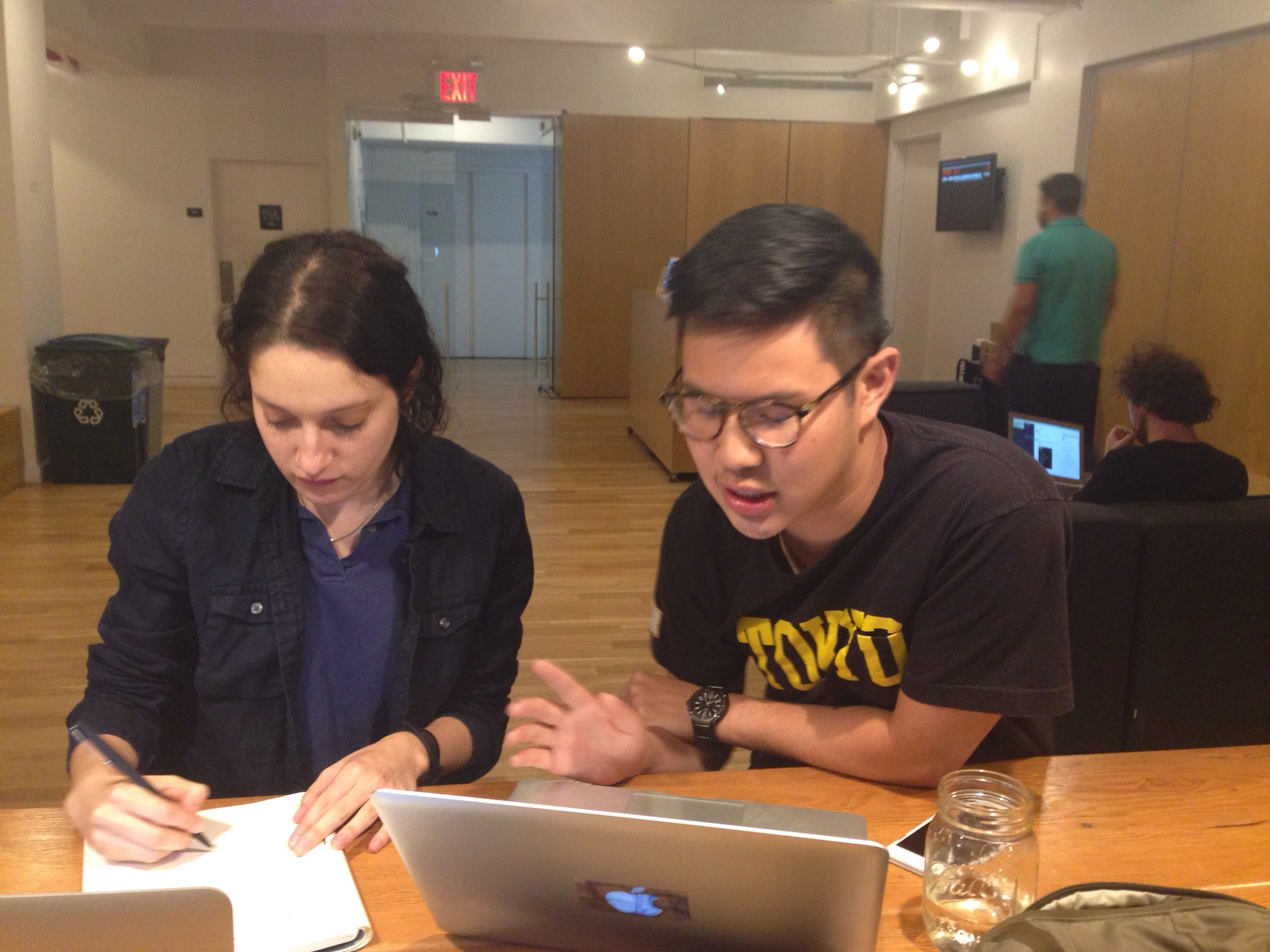 Liat conducts a usability test