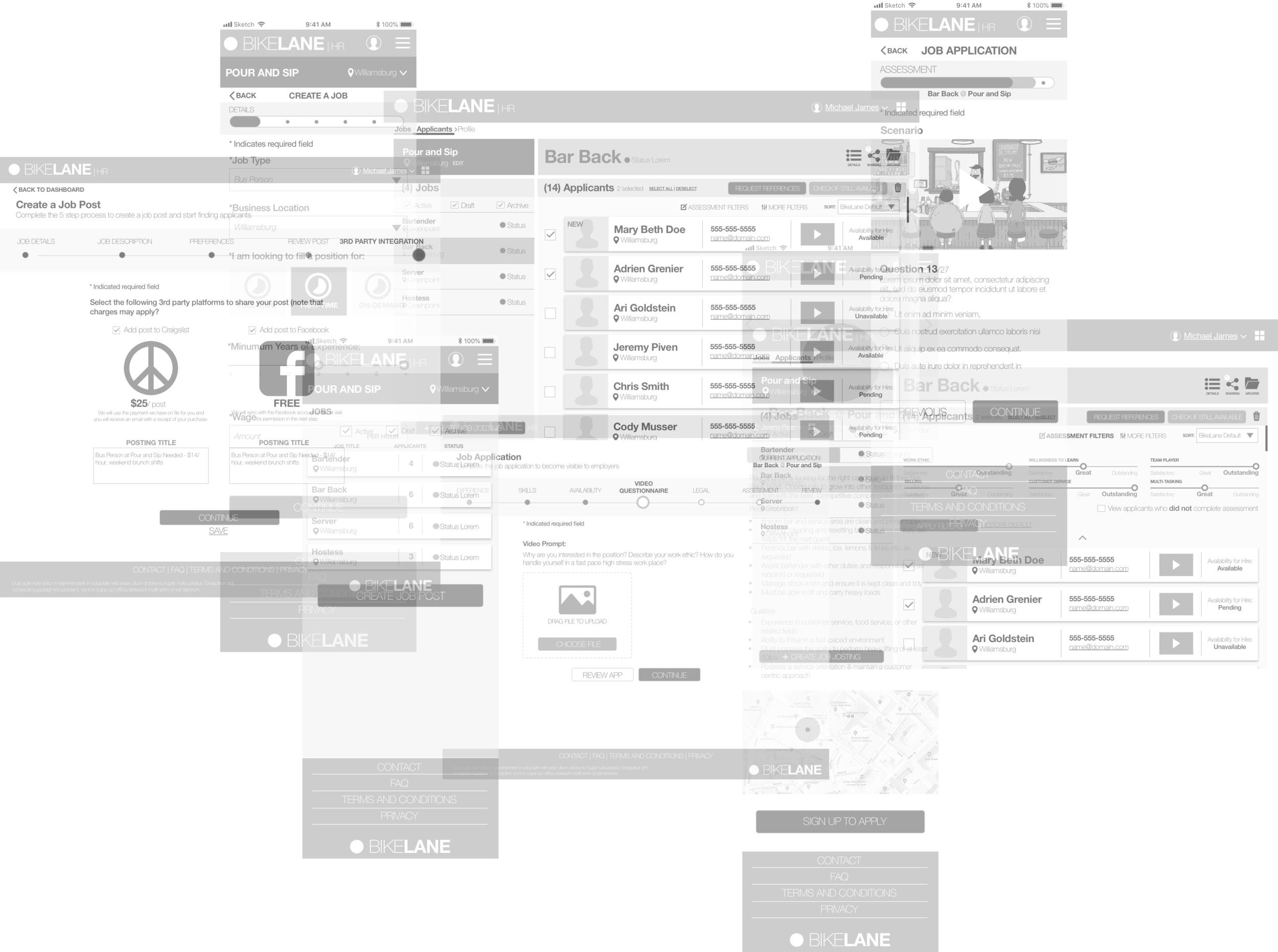 WIREFRAME DESIGN EXPLORATION