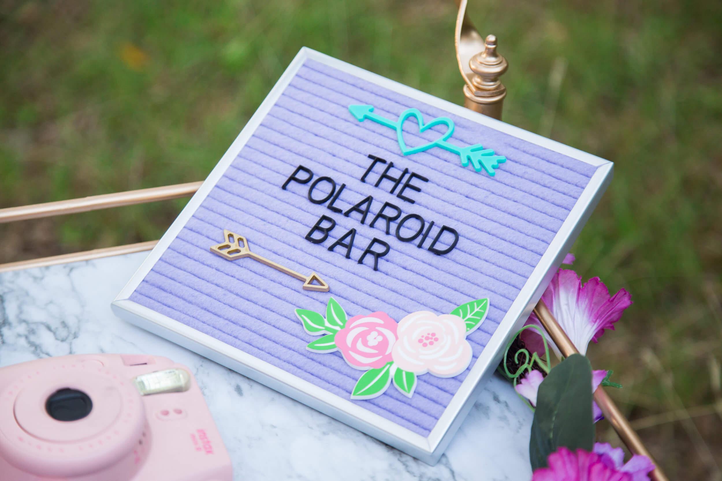 polaroid bar