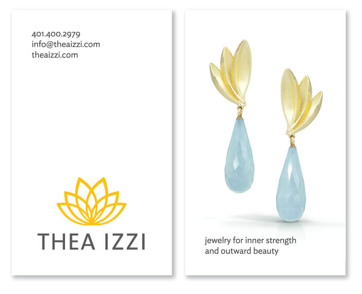 Thea Izzi business cards