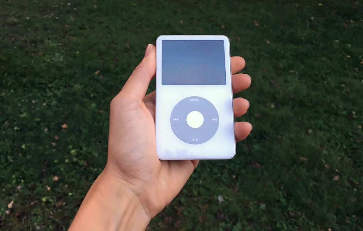 My first iPod. Still going strong.