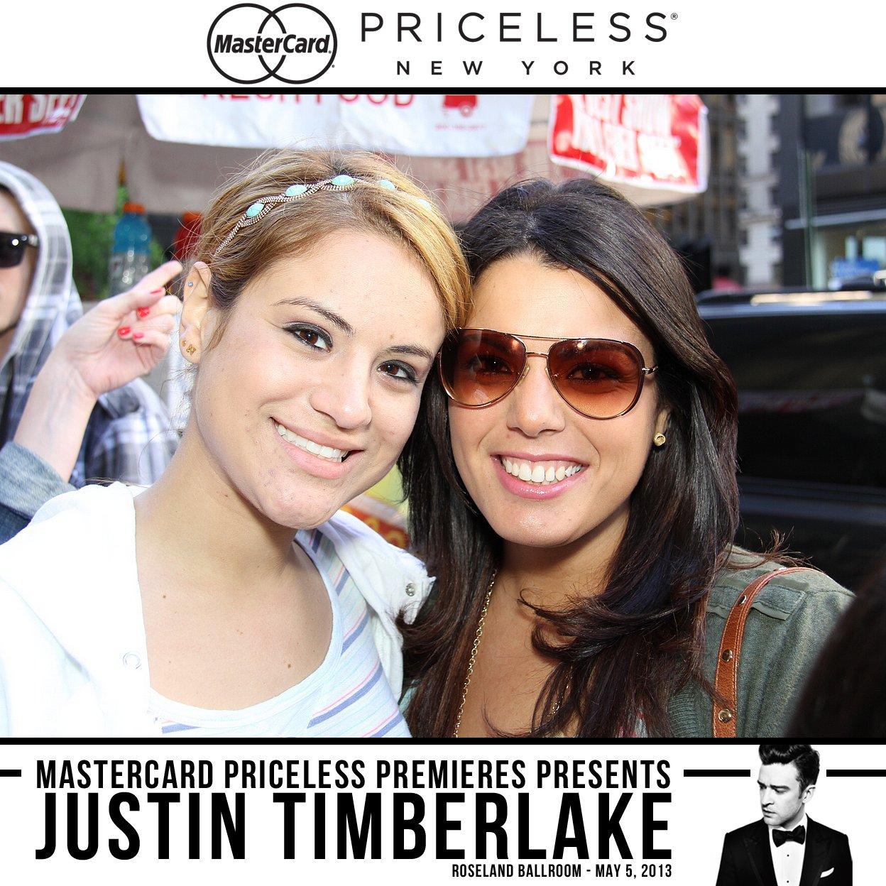 Justin Timberlake Priceless Surprises