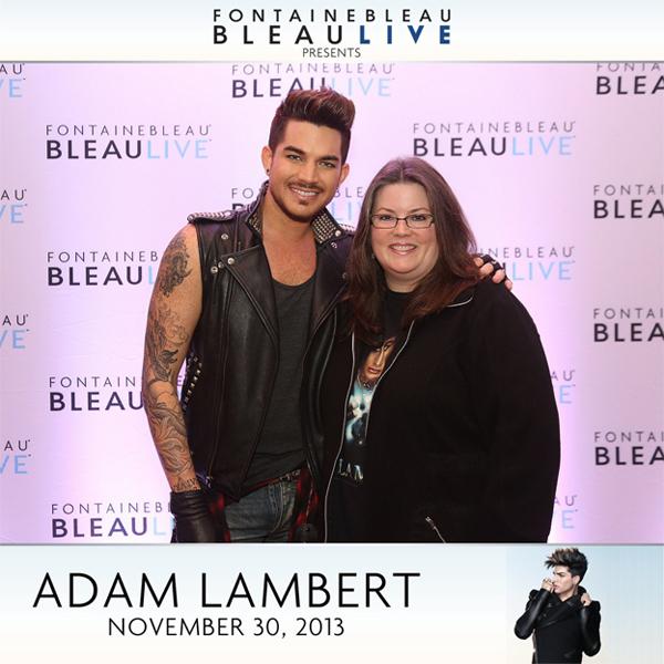 Adam Lambert Meet and Greet