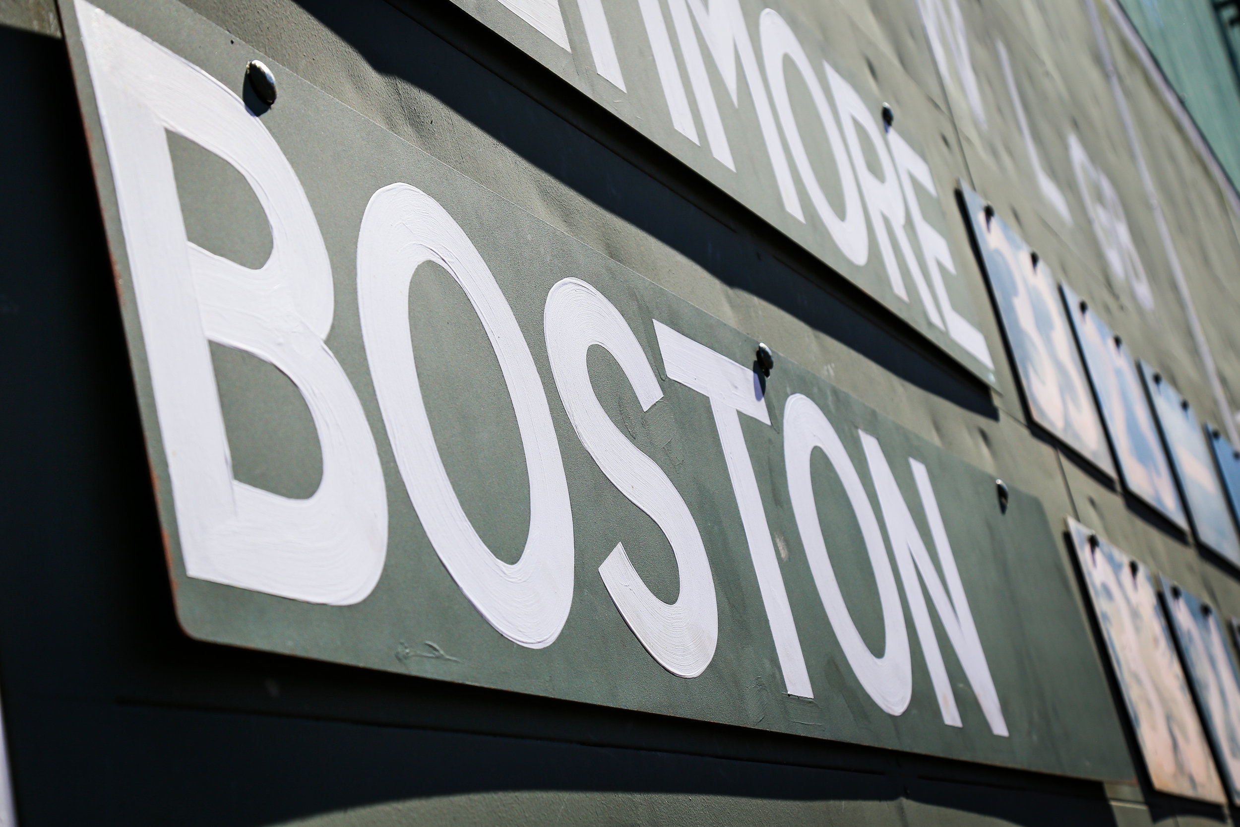 Green Monster Boston Red Sox