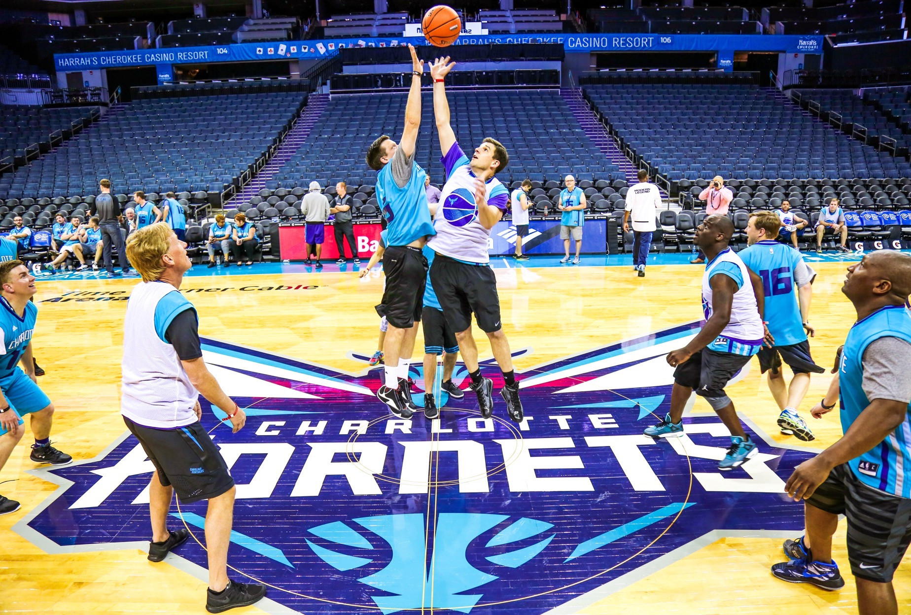 Charlotte Hornets Court Of Dreams