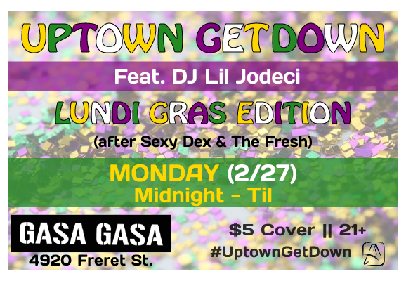 #UptownGetDown  was a late-night dance social. Guests came and grooved with us and our favorite DJs into the wee hours. This series pops up every so often, but you'll have to  follow our instagram feed  to stay in the loop.
