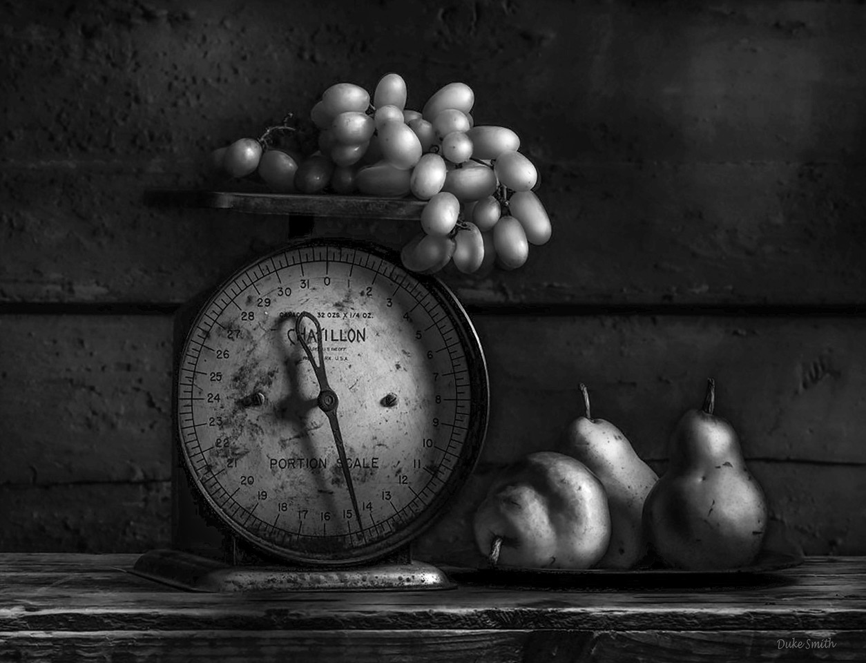 """""""Scale with Fruit"""" by Duke Smith"""