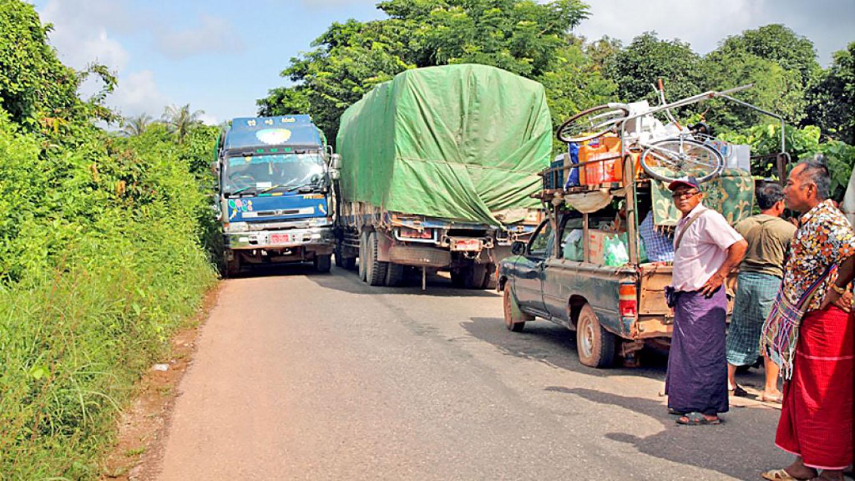 myanmar road between Eindu and the Thai borde  r.Photo: ADB/Myo Thame