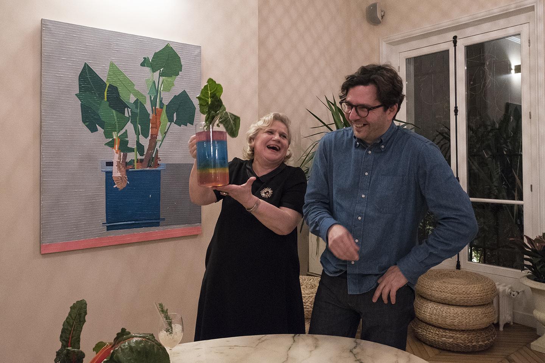 Marie Chemorin et Guy Yanai