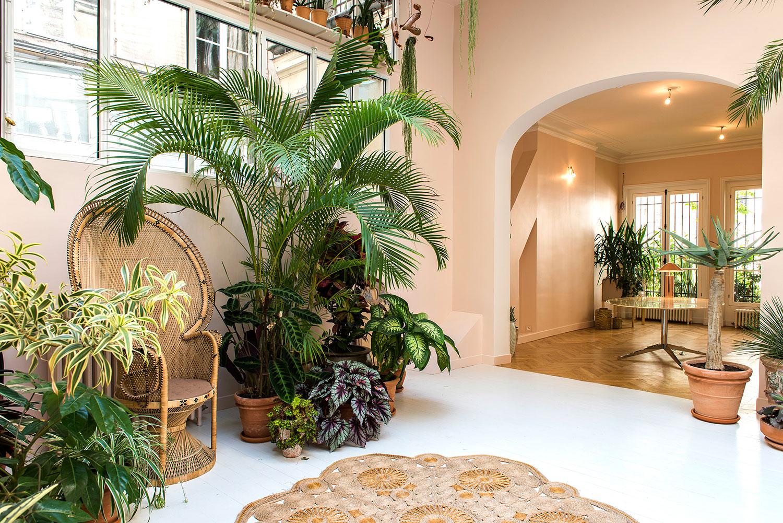 . — Jardin d'hiver, Maison Debeaulieu .. — winter garden, maison debeaulieu ....