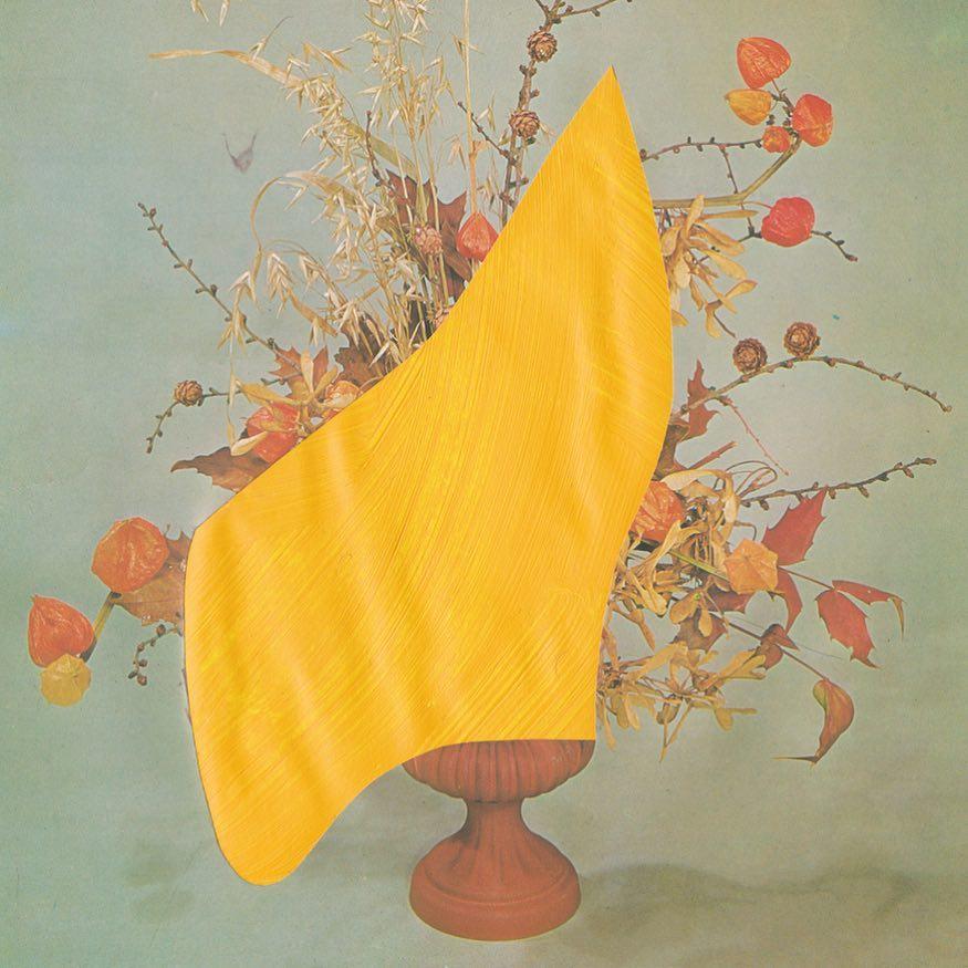 Red Flowers  de B .D. Graft, Encadré, 30 x 45 cm