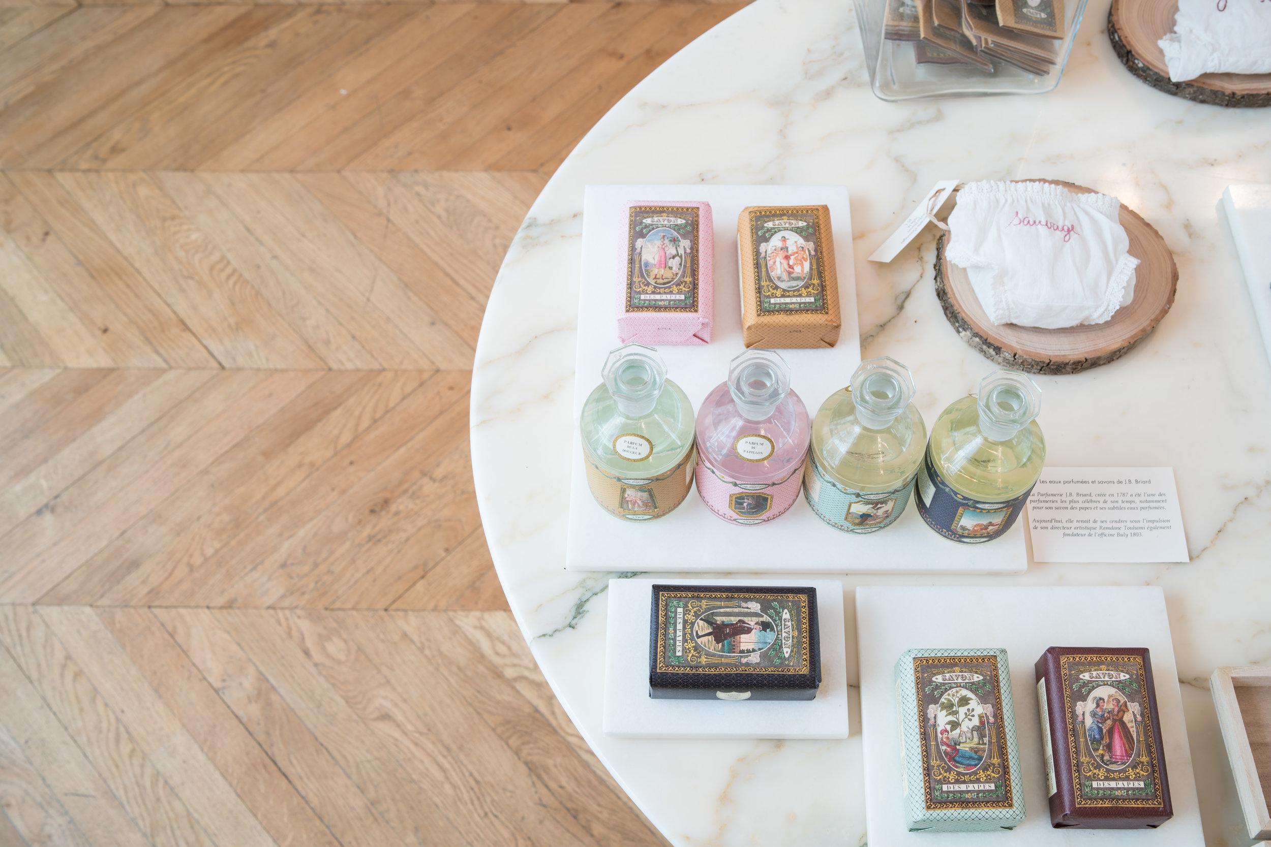 Eau, parfum et savon, J.B. Briard