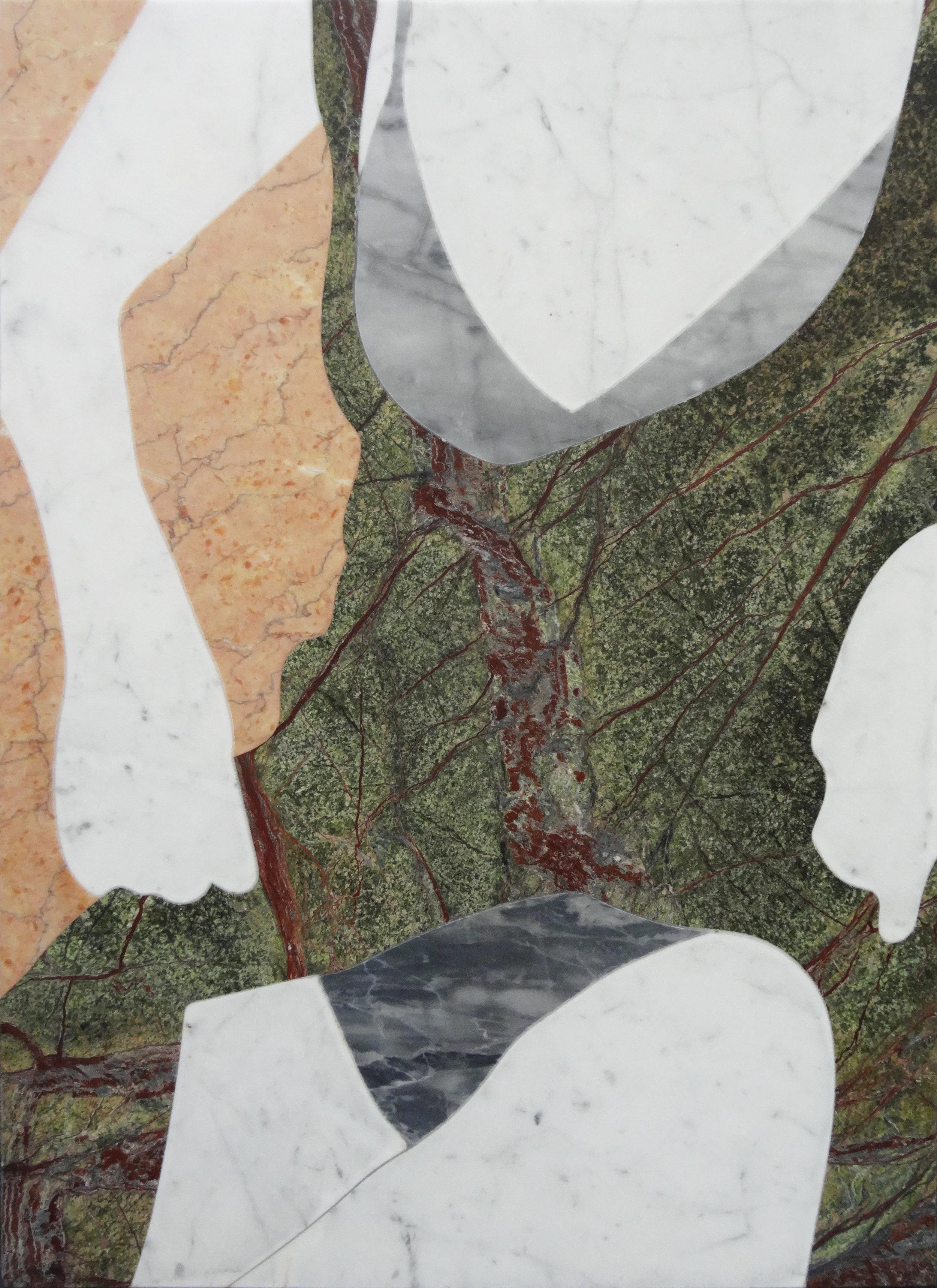 "— Marqueterie de marbre, Alice Guittard, ""Lisa"""