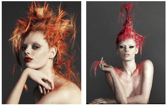 Harper's Bazaar Belleza,     Corto y Cambio    with Stef Van Der Laan