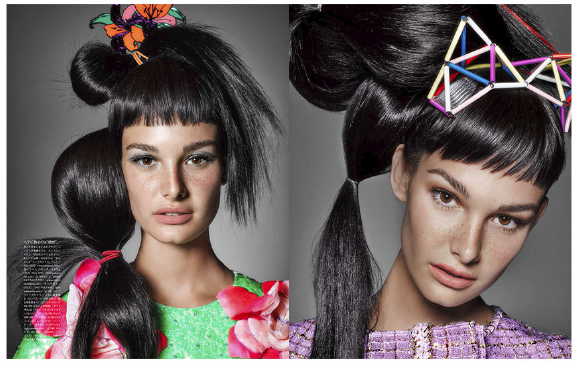 Vogue Japan  A Modern Royalty  最新ファッション情報 with Ophelie Guillermand