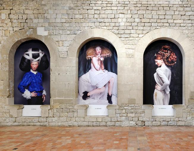 Photo Vue d'installation à Château Des Adhémar