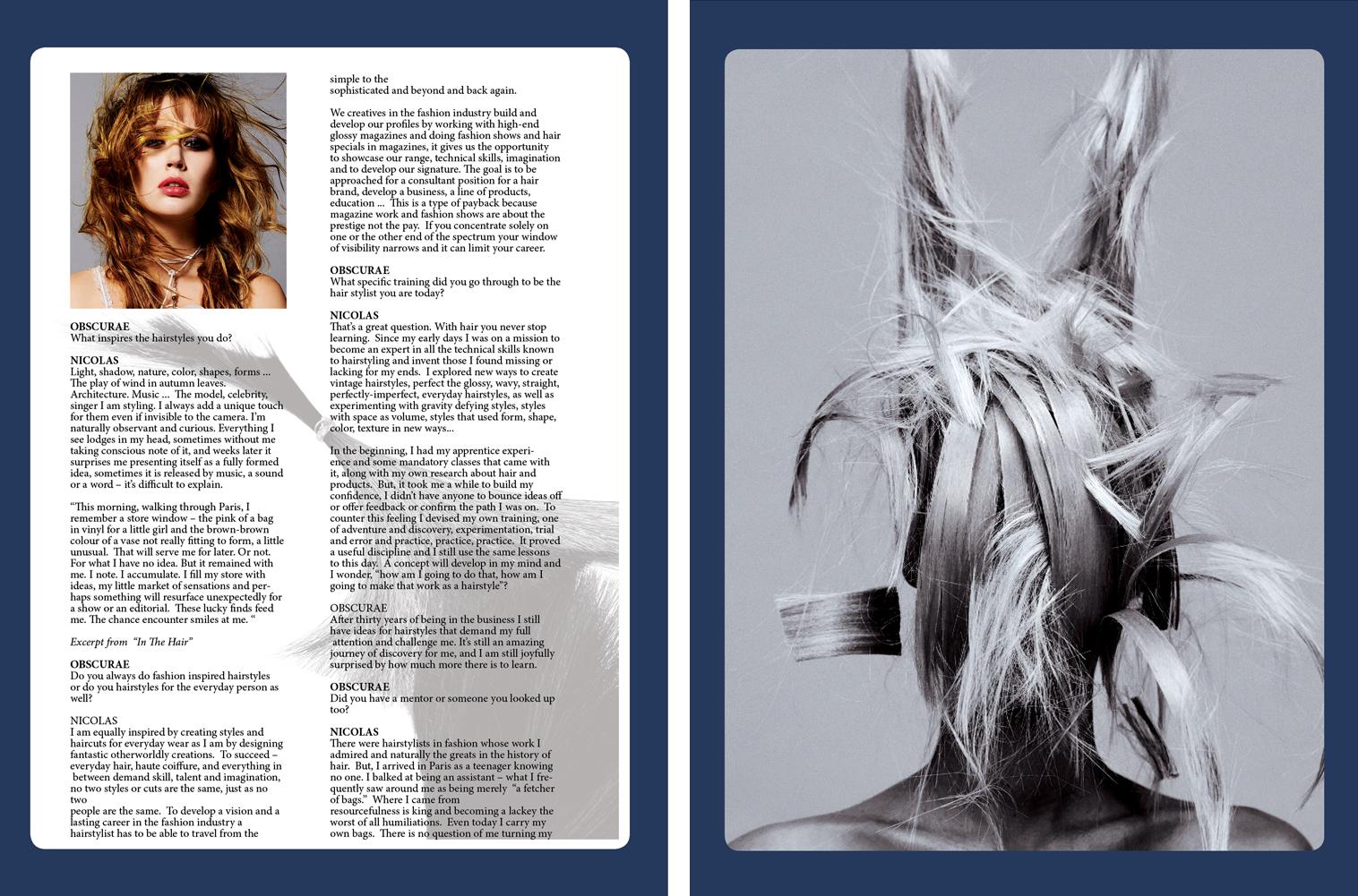 Obscurae Magazine - Nicolas Jurnjack -  Page 76-77