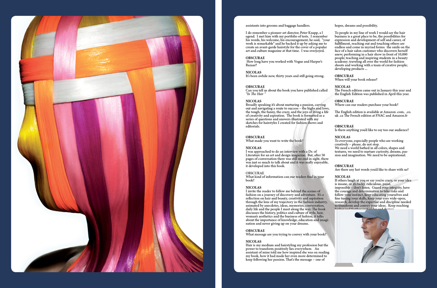 Obscurae Magazine - Nicolas Jurnjack Page 78-79