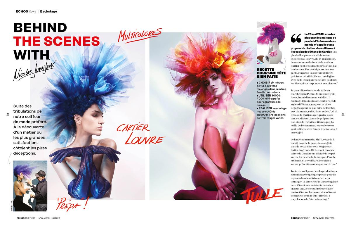 ECHOS coiffure n°74 FRANCE Mai-Juin 2019