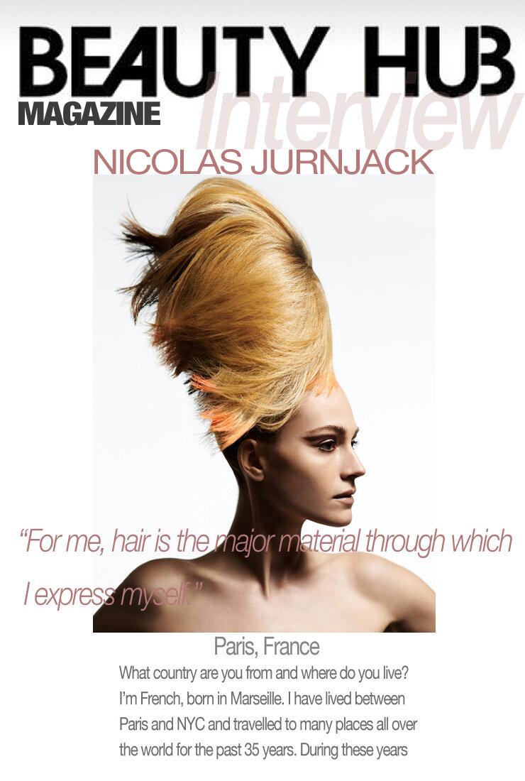 Beauty Hub Magazine Interview With Nicolas Jurnjack Nicolas