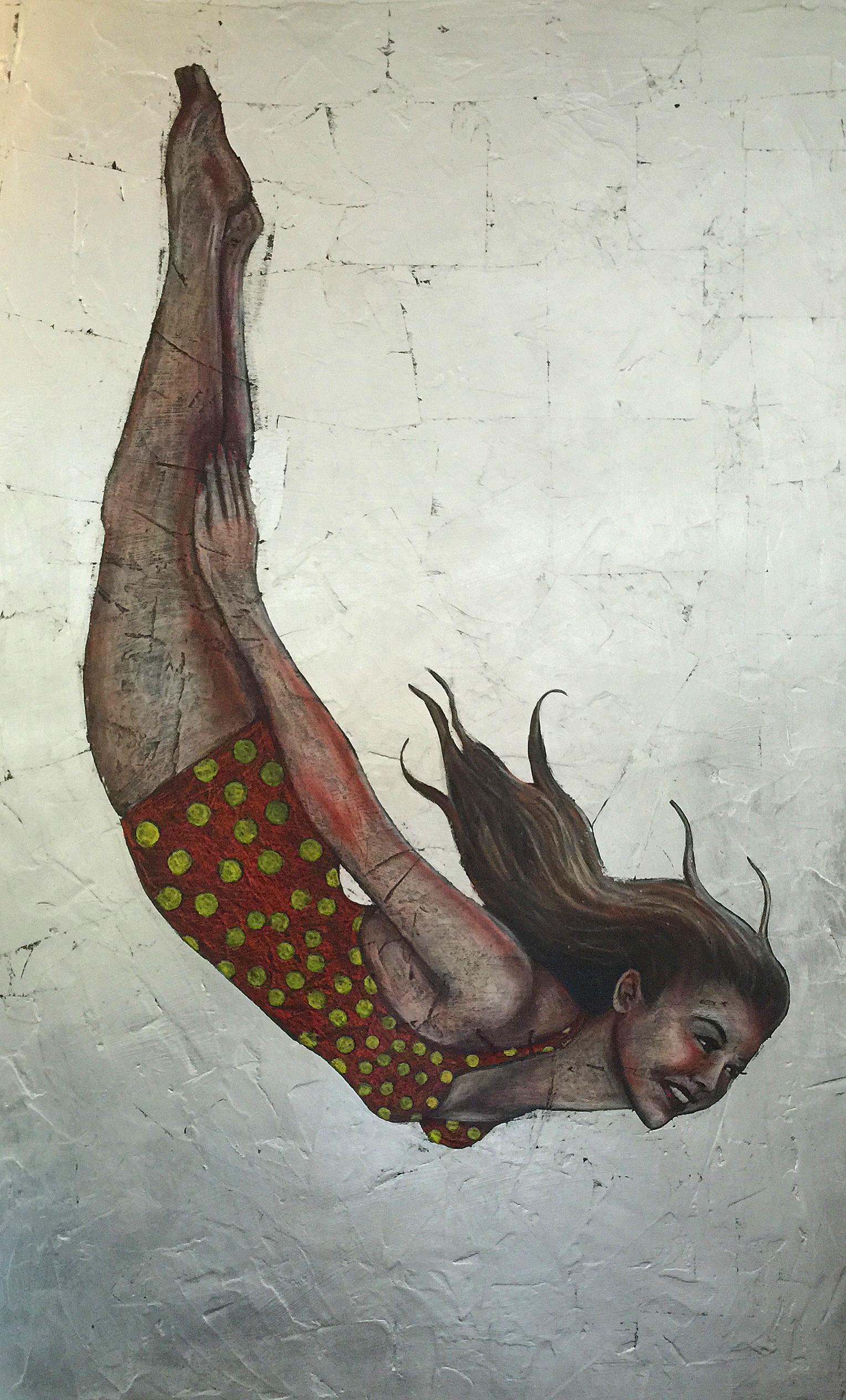 Silver Dive Girl