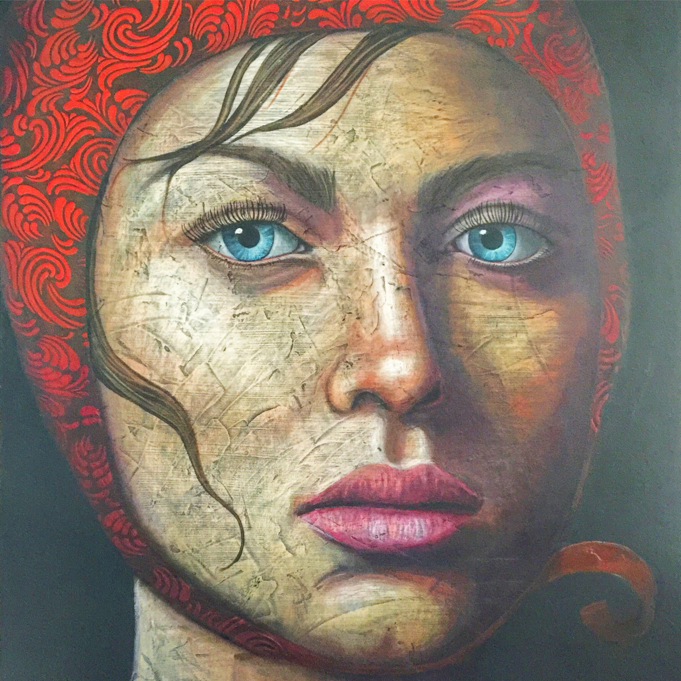 """The Competition 48""""x60"""""""