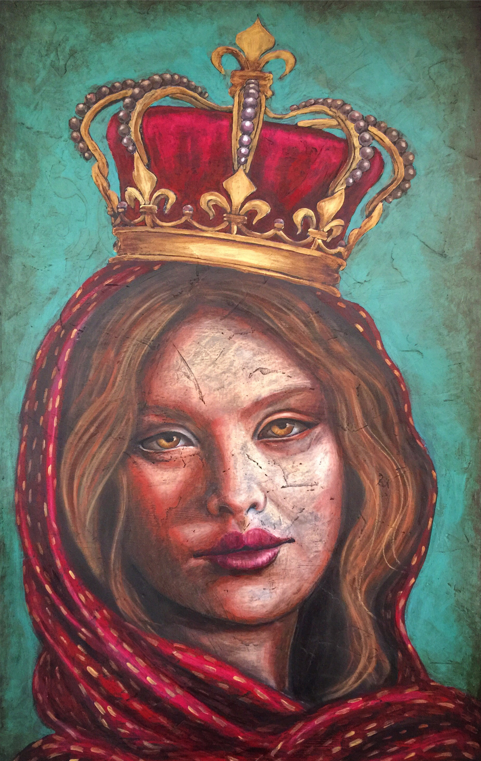 Queen for a Day 30x48