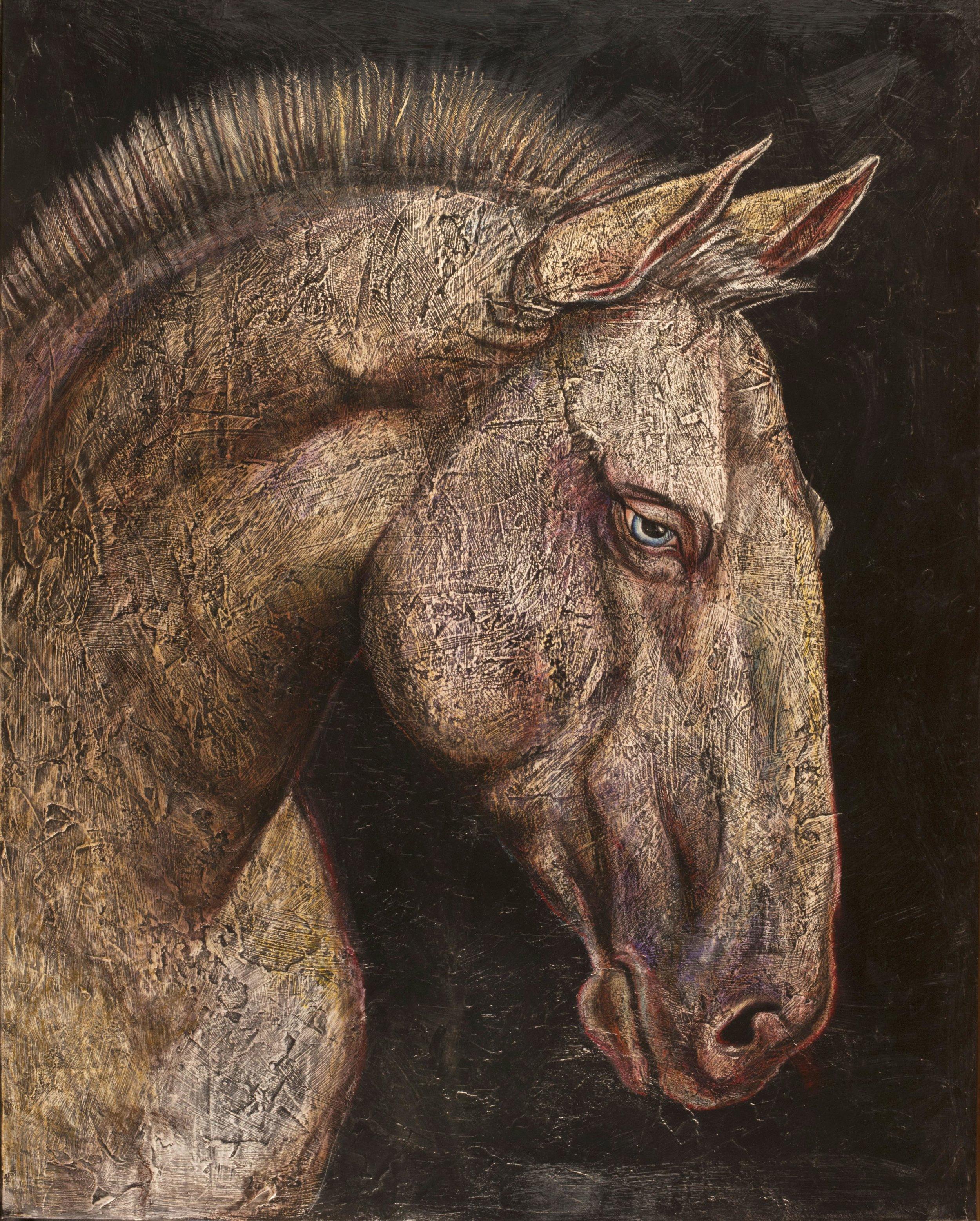 Working Horse 48x60