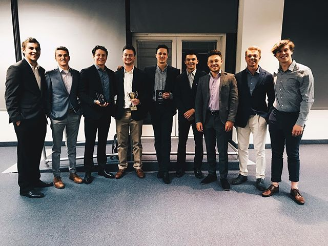 GREEK AWARDS Tonight we were honored to receive three Greek Awards including:  Emerging Greek Leader: Ben Wasserman Greek Man of the Year: Bryce Anderson  Advisor of the Year: Steve Caine