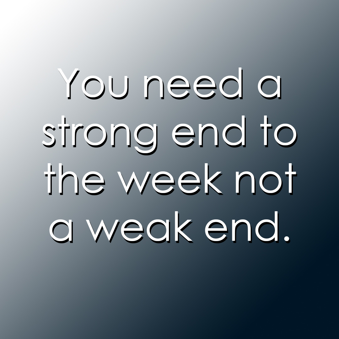 Finish Hard, End Strong!