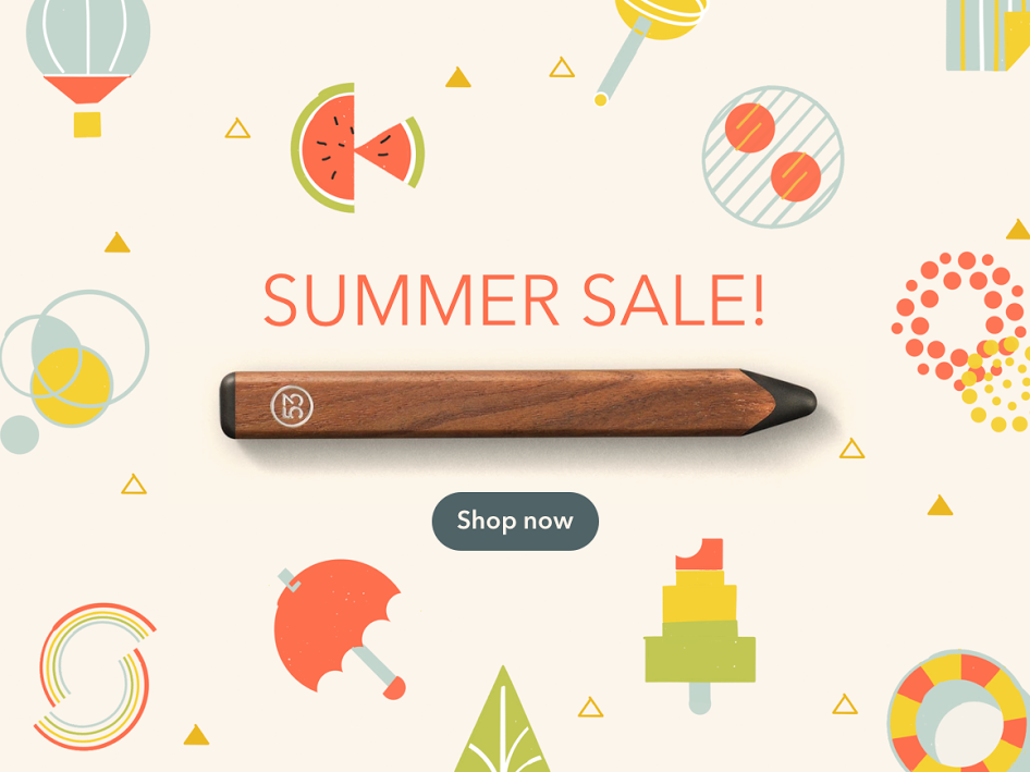53 Pencil Summer Sale