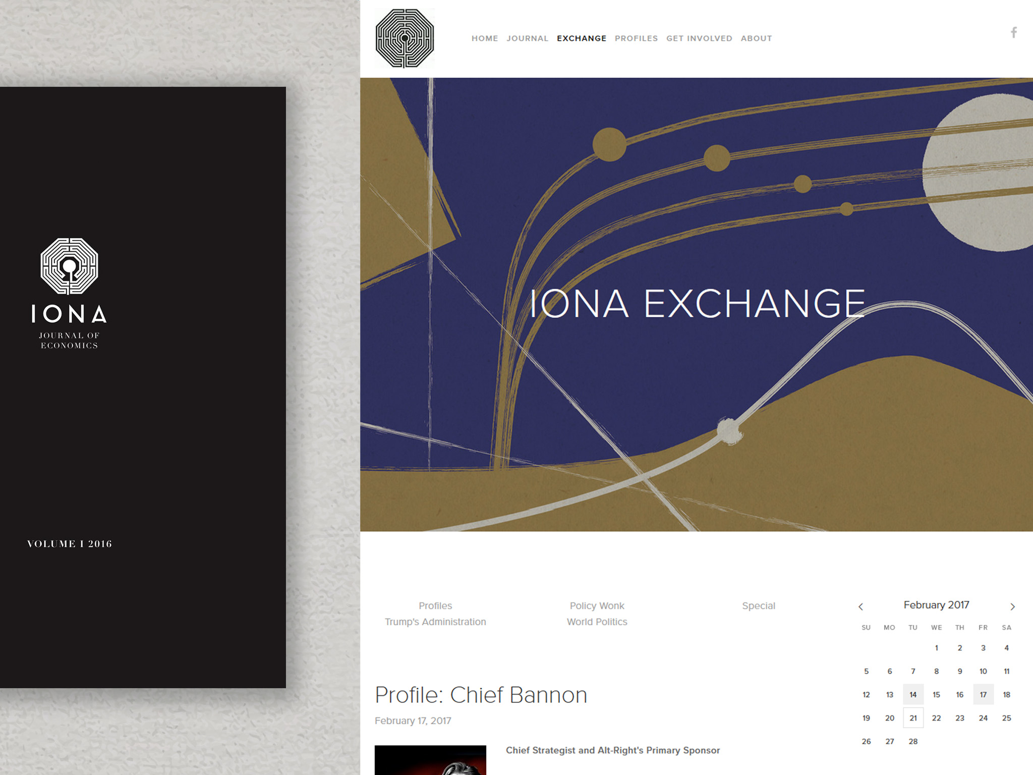 IONA Exchange Website 2