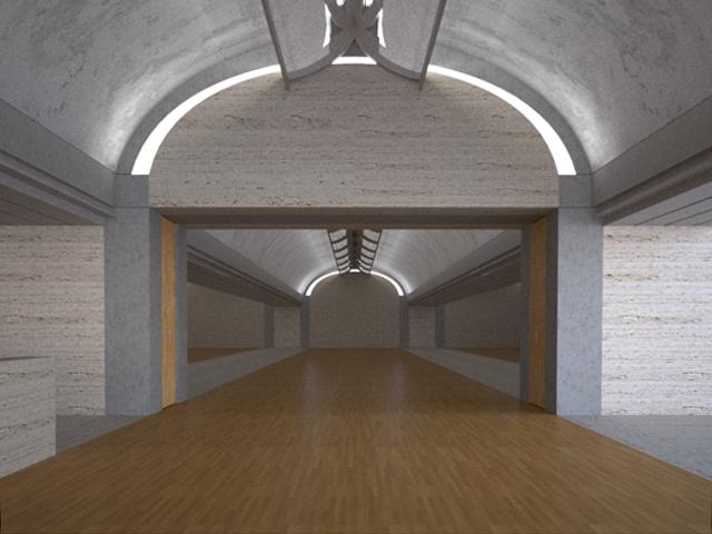 Light Modelling of Kimbell Art Museum 1