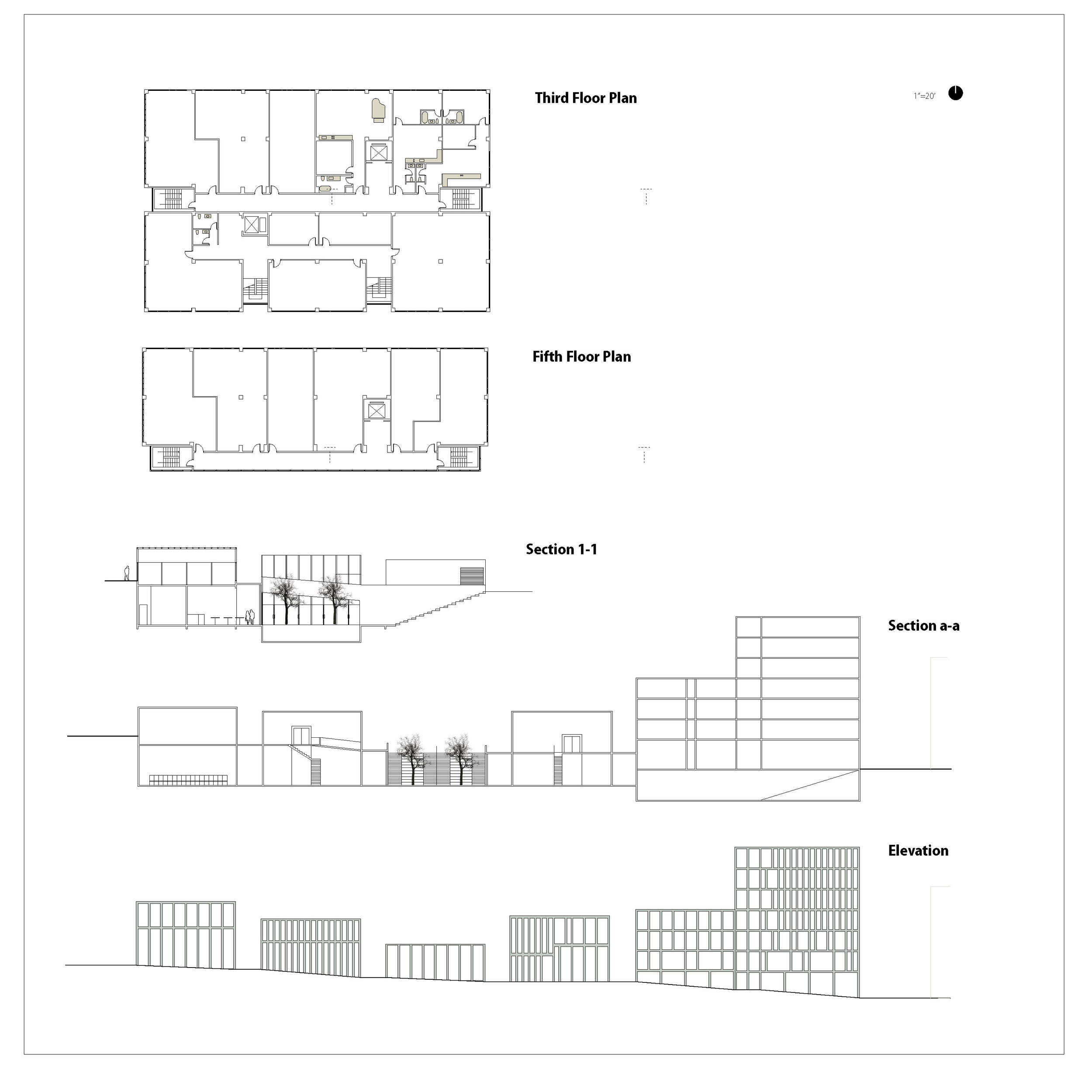 Density_Typical Floor Plan and Sections
