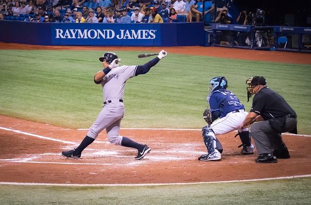 Alex Rodriguez batting.