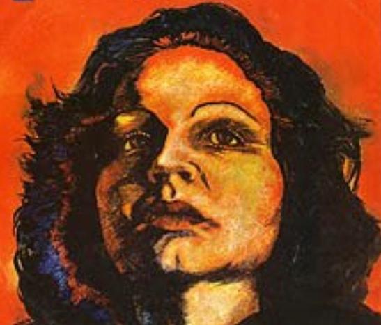 Image of Sonia Silvestre from the 1974 album Sonia Canta a los poetas de la patria [Sonia Sings to the Poets of the Homeland].