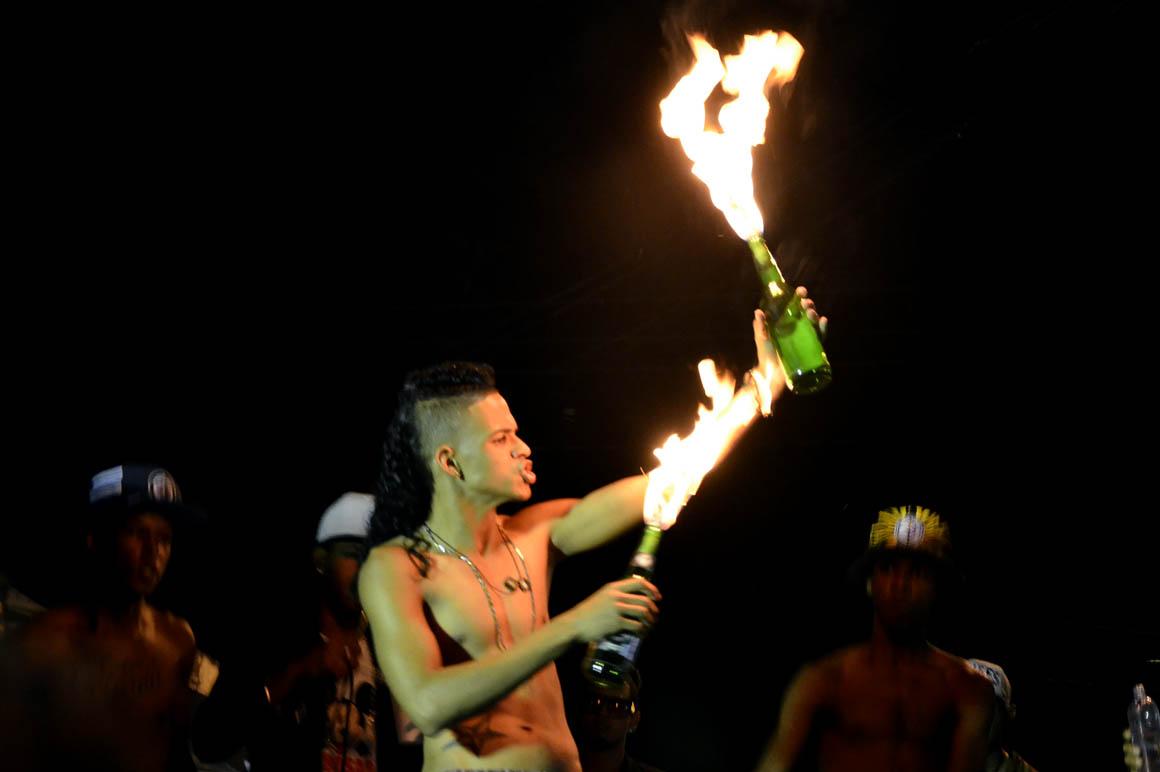 A rap showcase in Los Minas in 2014. Photo: Orlando Ramos via  Acento