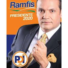 Luis José Ramfis Trujillo en campaña.
